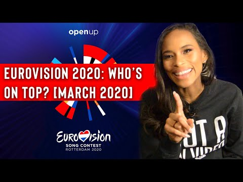 Eurovision 2020: Who is on the top? Pt. 2 [March 2020]