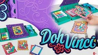 Anywhere Art Studio Easel & Storage Case Set / Artystyczne Studio Walizeczka - Doh Vinci - Play-doh