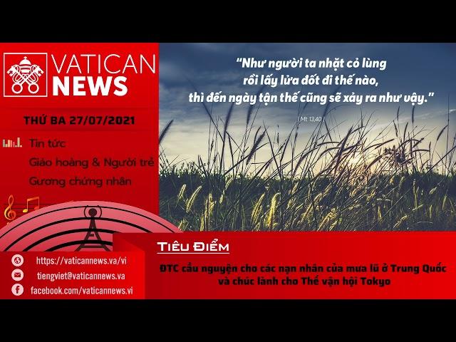 Radio thứ Ba 27/07/2021 - Vatican News Tiếng Việt