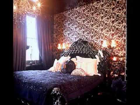 Gothic Bedroom Design Decorating Ideas