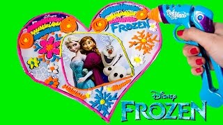 Playdoh Dohvinci Diy Disney Frozen Play Dohvinci Play Doh Rainbow Heart