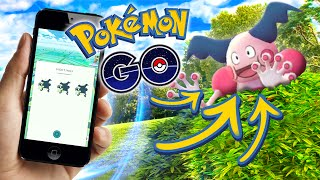 POKEMON GO - THE HUNT FOR MR.MIME!