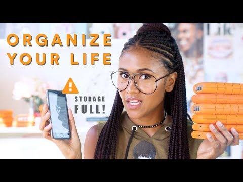 10 Tips to Declutter & Organize your Digital Life  | TECH TALK
