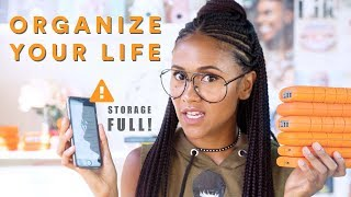How to Organize Your Phone Apps + Files | TECH TALK