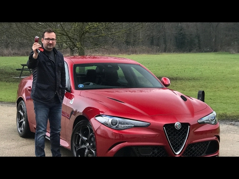 Tony Bought An Alfa Romeo Giulia QV