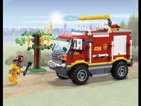 LEGO City Camin de Bomberos 4X4 Juguetes Lego Para Nios  YouTube