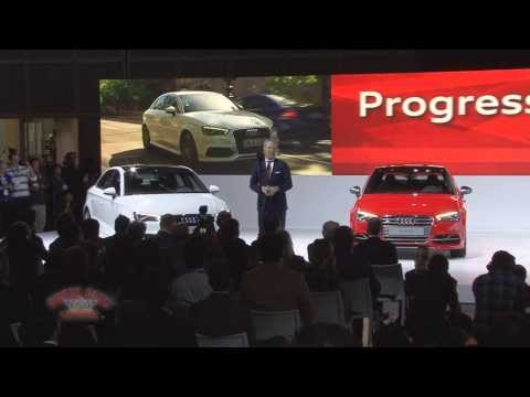 2013 LA Auto Show - Audi Presentation with A3 and RS Unveilings
