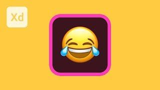 MacOS Emojis in Adobe XD | 2 Minute Tutorial