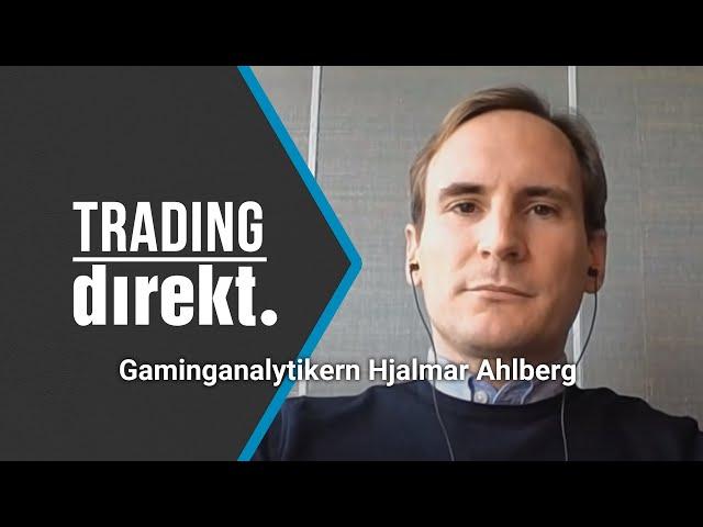 Trading Direkt 2021-08-31   Gäst: Gaminganalytikern Hjalmar Ahlberg