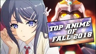 Top Anime of Fall 2018 Season ft. Bunny Girl-senpai, The World in Colors, Reincarnated as a Slime