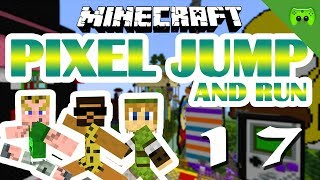 MINECRAFT Adventure Map # 17 - Pixel Jump & Run «» Let