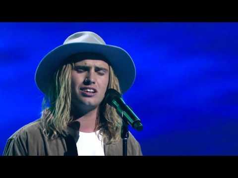 Blake Morgan sings