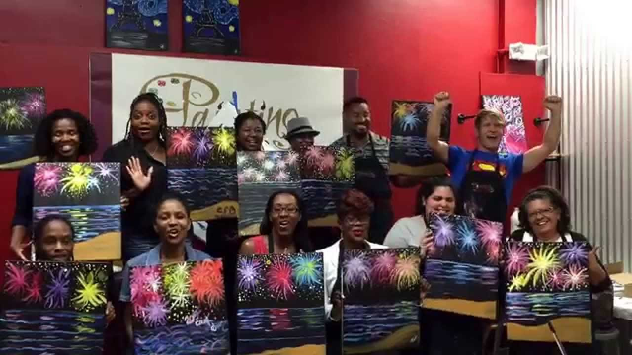 happy new year from painting with a twist in miami beach