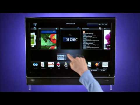 HP TouchSmart Homepage - Tutorial