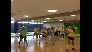 ACM Alpaville aula ritmos brasileiros prévia Copa 2014 11/06