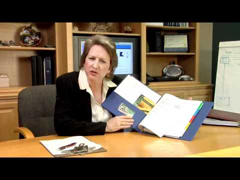 Melissa Shaw's Financial Counselor Notebook