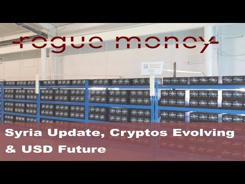 Rogue Mornings - Syria, Bitcoin Evolving & USD Future  (09/29/2017)