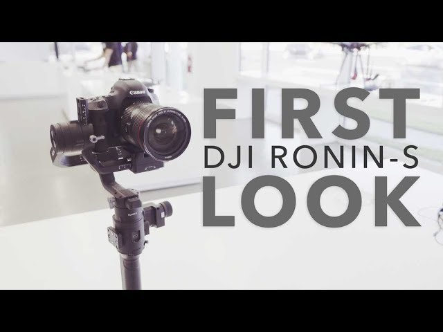 DJI Ronin-S: What You Need to Know