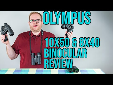 Olympus 10x50 and 8X40 binoculars review - Are the budget binoculars comparable to Leica Ultravid's?