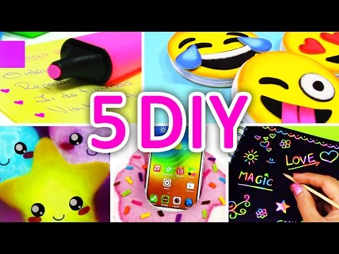5 Minute Crafts To Do When You're BORED! 5 Quick And Easy DIY Ideas! Amazing DIYs & Craft Hacks!