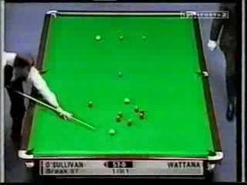 147 Ronnie O'Sullivan vs. James Wattana(1999)