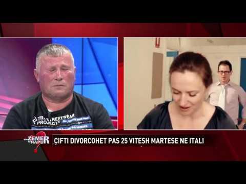 Çifti divorcohet pas 25 vitesh ne Itali