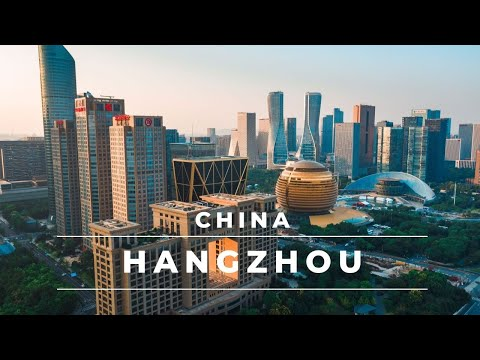 Hangzhou, China in 4k | Aerial footage of this beautiful city – China travel