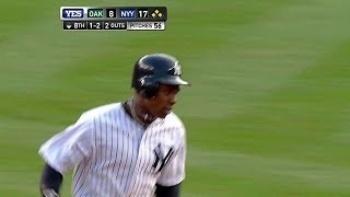 Granderson pounds third grand slam of game
