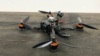 Eachine Tyro 119 -Flight test and FPV