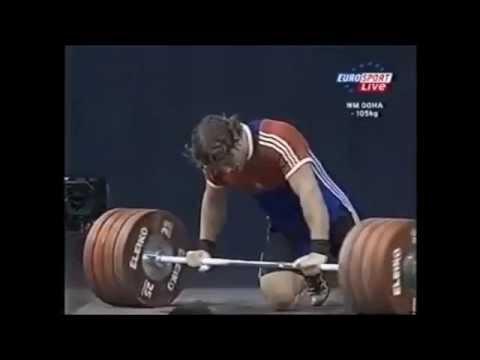 Dmitry Klokov at 2005 World Weightlifting Championship