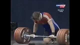 Dmitry Klokov at 2005 World Weightlifting Championship