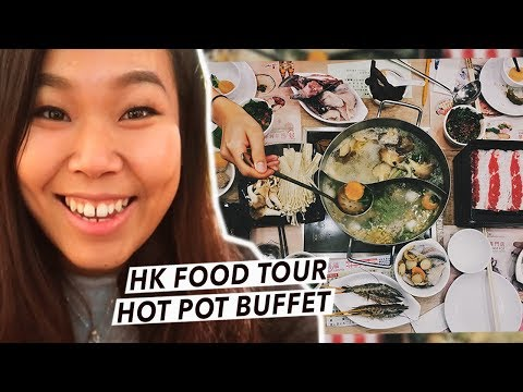 All You Can Eat HOT POT Buffet in Hong Kong - Everything You NEED To Know!   Hong Kong Food Tour