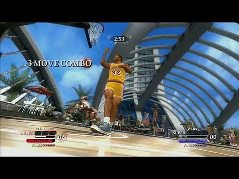 NBA Ballers: Chosen One Xbox 360 Gameplay - New School vs.