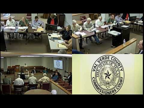 August 28 2017 Commissioners Court Special Meeting