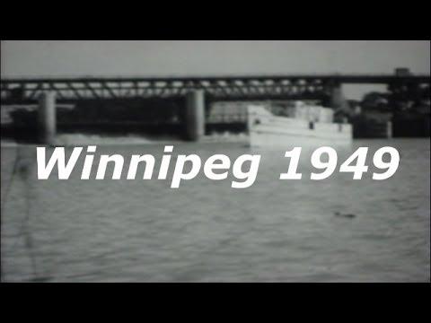 Winnipeg  Manitoba Canada 1949