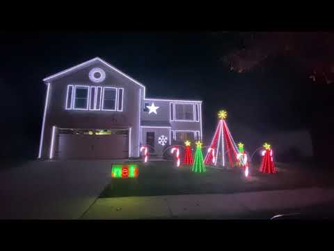 Christmas Lights in Noblesville – Bretscher Family Light Show