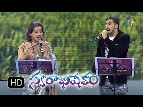 Anaganaga Akasam Undi Song - Karunya, Kalpana Performance in ETV Swarabhishekam - 1st Nov 2015