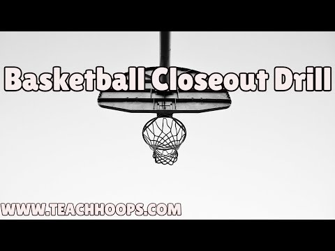 Closeout Drill Basketball