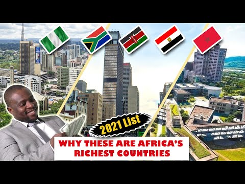 Top 10 Richest Countries in Africa 2021 - Wealthiest Countries in Africa