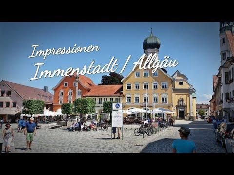 Amazing City / Impressionen Immenstadt / Allgäu / Sommer / Eine saubere, gepflegte City!