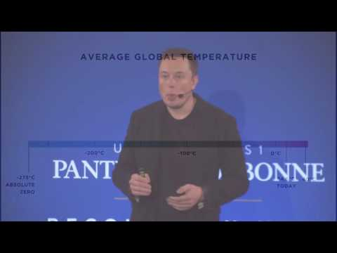 Elon Musk talks climate change & carbon tax at the Sorbone 2015.mp4
