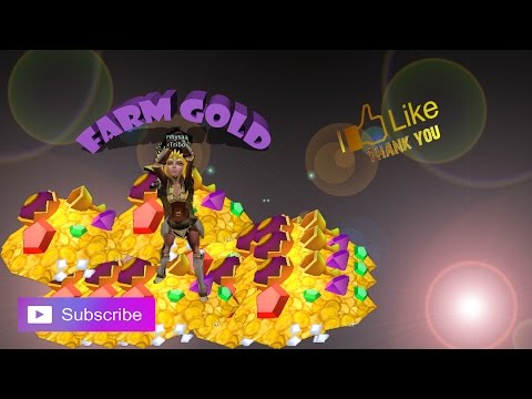 ARCANE LEGENDS   EASY FARMING GOLD 2017   HOW TO BE RICH