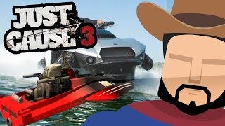 Just Cause 3 - CarBoat Spotted? (Just Cause 3 Gameplay)