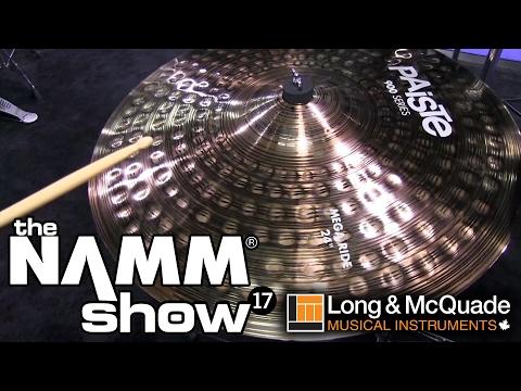 L&M @ NAMM 2017: Paiste Cymbals