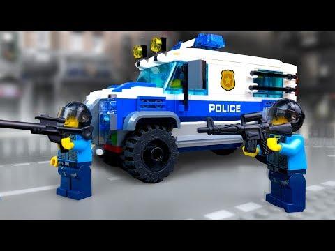 ЛЕГО Полицейские Истории 🔴 LEGO Мультики про Полицию
