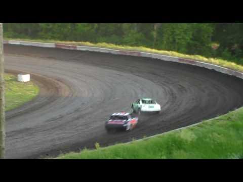 Stock Car Heat 1 @ Hamilton County Speedway 06/10/17