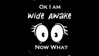Alright We Are Awake Now What? The Humorous Side of Being Awake