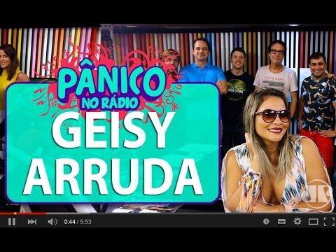 Geisy Arruda - Pânico - 12/04/16