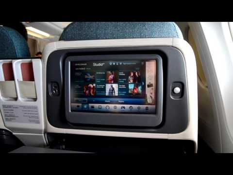 Cathay Dragon Business Class A330 Beijing to Hong Kong