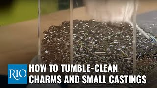 How to Tumble-Clean Charms and Small Castings